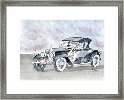 Rolls Royce 1923 Framed Print by Eva Ason