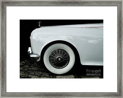 Rolls Royce Framed Print by Jose Luis Reyes