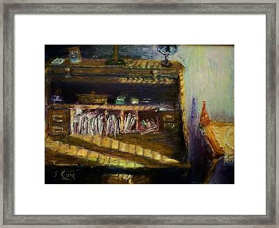 Rolltop Framed Print by Stephen King