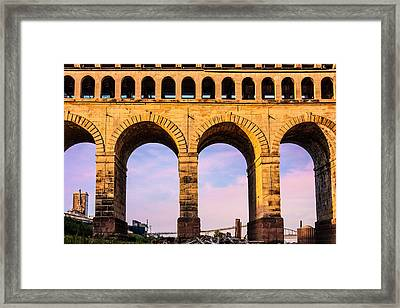 Roman Arches Framed Print