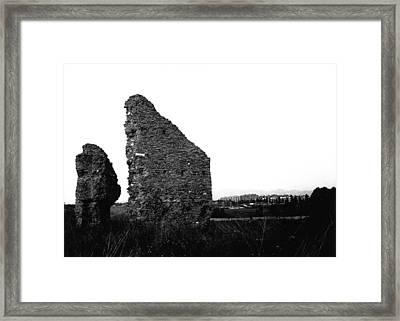 Roman Ruines Framed Print by Luca Rosa