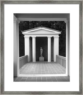 Roman Shrine  Framed Print by Paul Washington