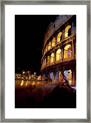 Roman Workout Framed Print
