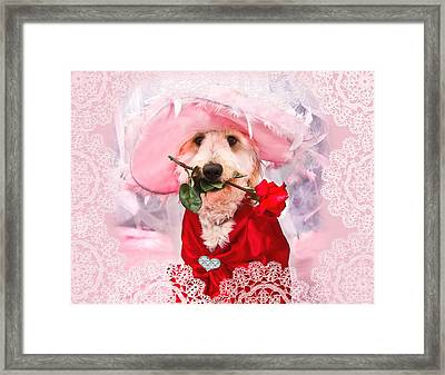 Romantic Kati Framed Print by Trudy Wilkerson
