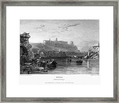 Rome: Aventine Hill, 1833 Framed Print