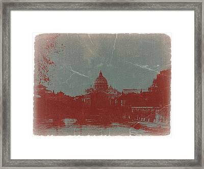 Rome Framed Print by Naxart Studio