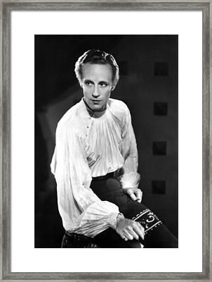 Romeo And Juliet, Leslie Howard, 1936 Framed Print