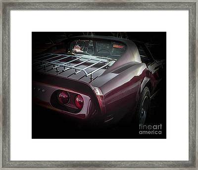 Romeo Michigan Framed Print by Chuck Re