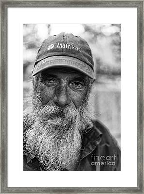 Ronald Framed Print by Darcy Evans