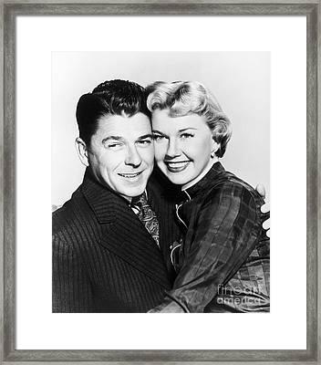 Ronald Reagan (1911-2004) Framed Print by Granger