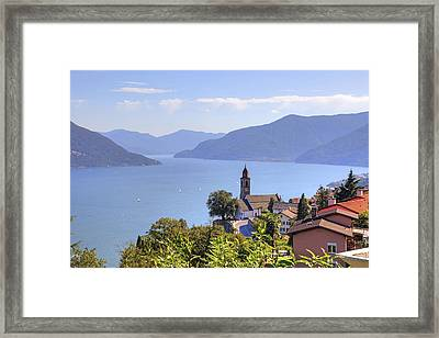 Ronco Sopra Ascona Framed Print