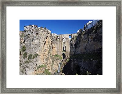 Ronda Framed Print by Rod Jones