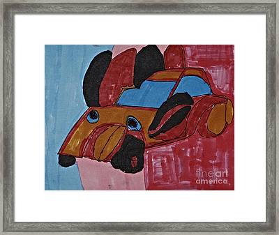 Roodster Phase IIi Framed Print by Stephanie Ward