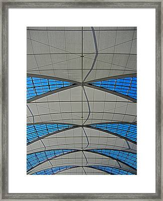Roof Structure ... Framed Print