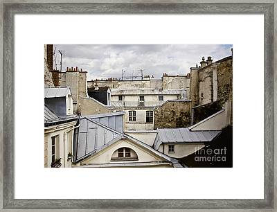 Roof Tops Framed Print