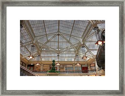 Rookery Ceiling Framed Print by David Bearden