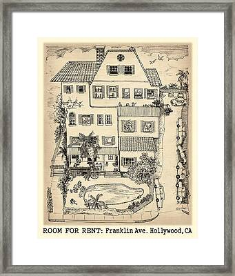 Room For Rent Framed Print by Evie Cook