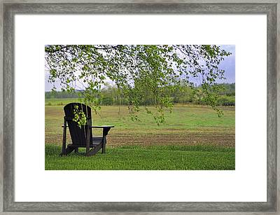 Room With A View Framed Print by Alan Norsworthy