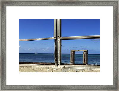 Room With A View Framed Print by Bob Christopher