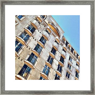 Rooms In A View! Framed Print