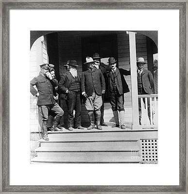 Roosevelt & Burroughs, C1903 Framed Print by Granger