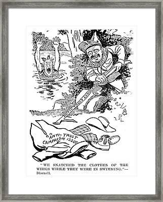 Roosevelt Cartoon, 1902 Framed Print by Granger
