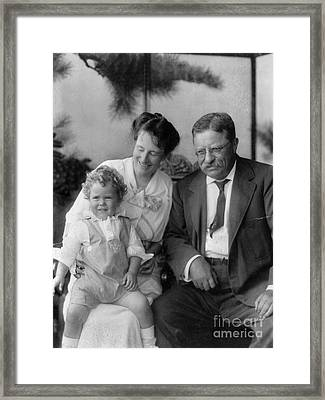 Roosevelt Family, 1915 Framed Print