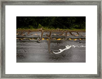 Root Framed Print