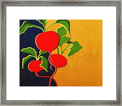 Roots 2 Framed Print by Peggy Wrobleski