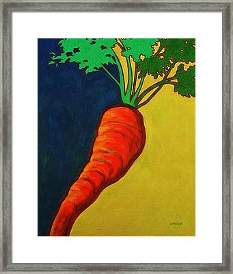 Roots 4 Framed Print by Peggy Wrobleski