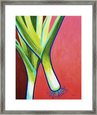 Roots 5 Framed Print by Peggy Wrobleski