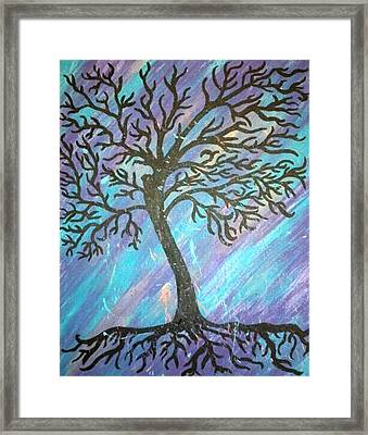 Roots To A New Beginning Framed Print by Alisha Harrison