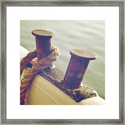 Rope Framed Print by Joana Kruse