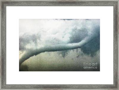 Rope Tornado  Framed Print