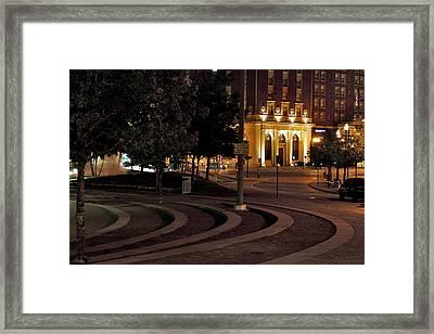 Rosa Parks Circle Framed Print by Richard Gregurich