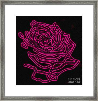 Rose 2 Framed Print by Christine Perry