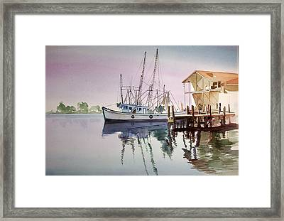 Rose Dawn Framed Print by Richard Willows