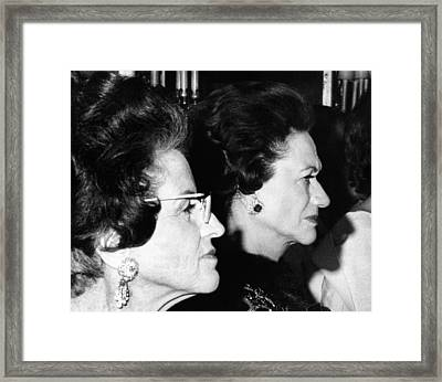 Rose Fitzgerald Kennedy And The Duchess Framed Print