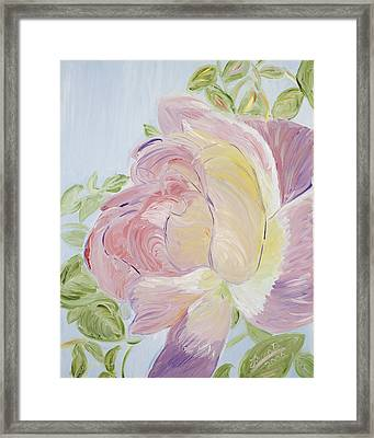 Rose Framed Print by Leona Bushman