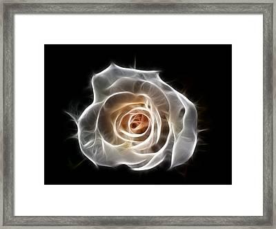 Rose Of Light Framed Print