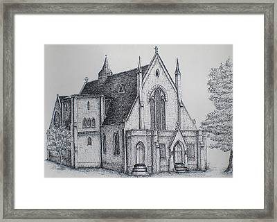 Rosemount Parish Church Framed Print