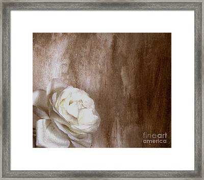 Roses Have Thorns Framed Print by Marsha Heiken
