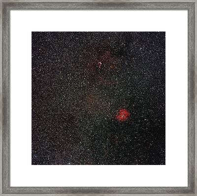 Rosette Nebula Framed Print by Eckhard Slawik