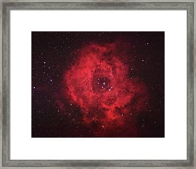 Rosette Nebula Framed Print by Pat Gaines