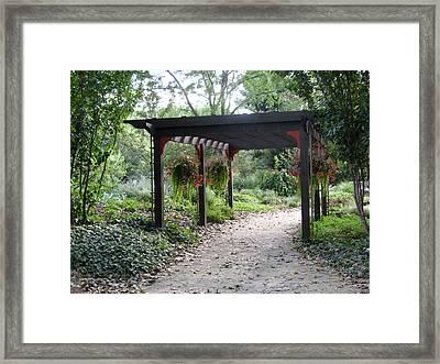 Rotary Gardens Framed Print
