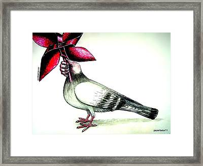 Rotate And Spread Good Energy  Framed Print by Paulo Zerbato