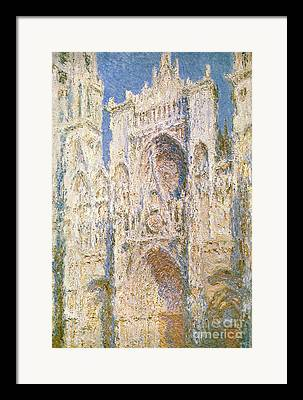 Building Feature Paintings Framed Prints