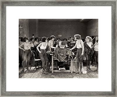 Rouged Lips, 1923 Framed Print by Granger