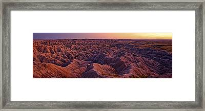 Rough Beauty Framed Print
