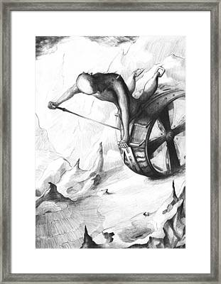 Rough Journey Framed Print by Rephfy